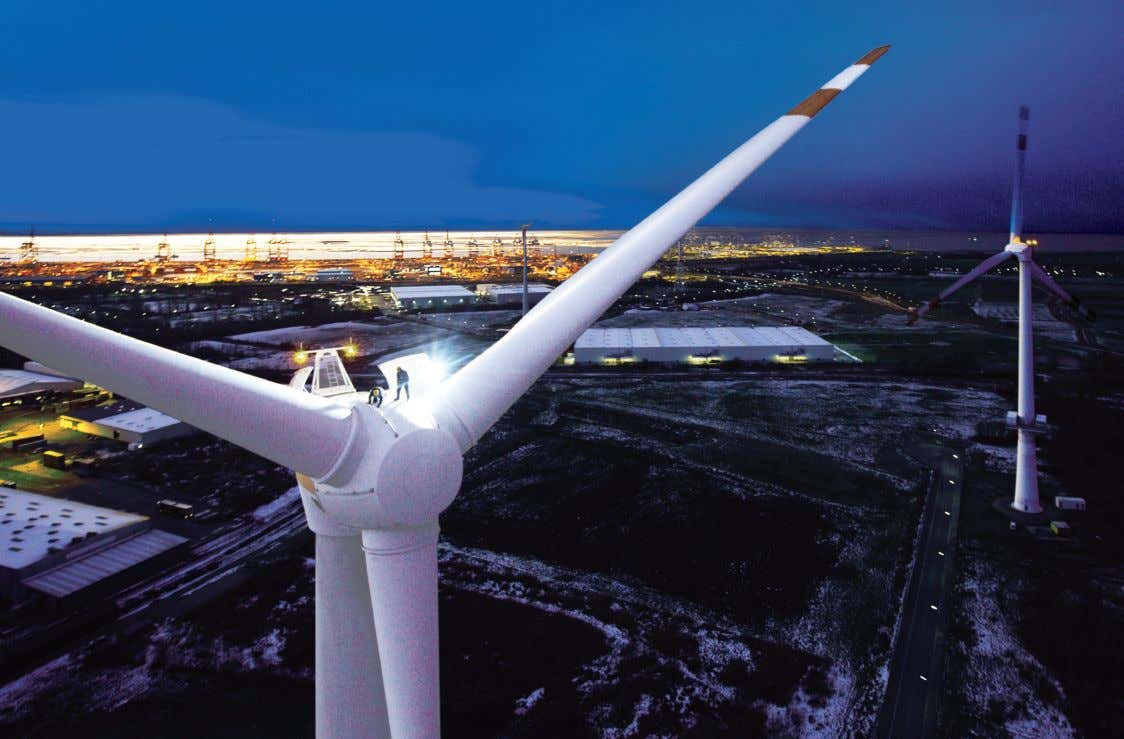 ABB wind power solutions Total solutions for wind power plants