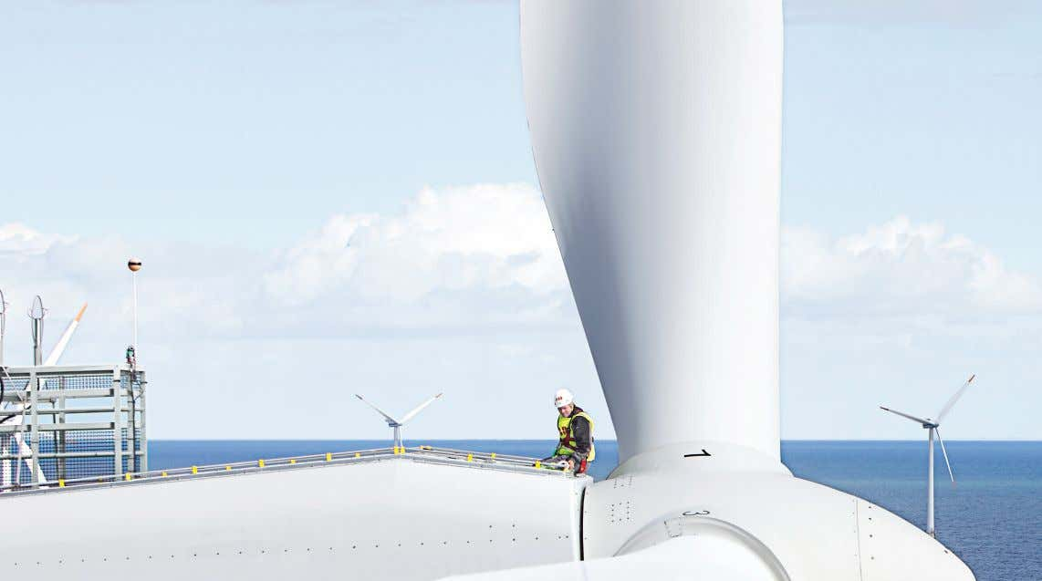 ABB wind power solutions The wind is free. Capturing the wind and putting it to work