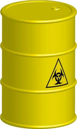 into five categories of radioactive materials, chemicals, biological materials, flammable and explosive substances.