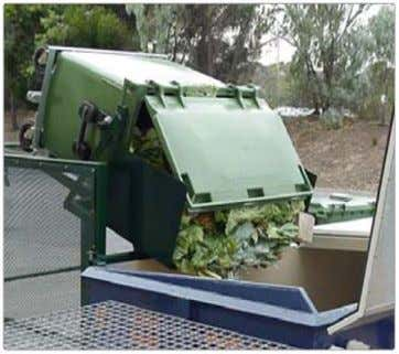 waste collection process carried out by Local Authority: 1. Storage 2. In situ handling 3. Collection