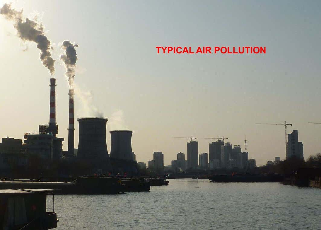 TYPICAL AIR POLLUTION