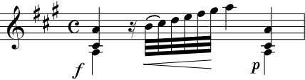 5 Andante - 15 - V This exercise can also be played with 32nd notes instead