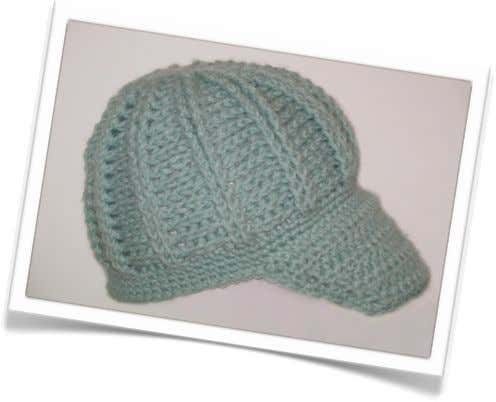 City Girl Cap Designed by Celeste Young Originally Published in Crochet Pattern A Day Calendar 2007