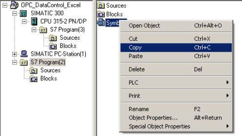 3. Switch back to the separate program folder. Select the symbols file and copy it via