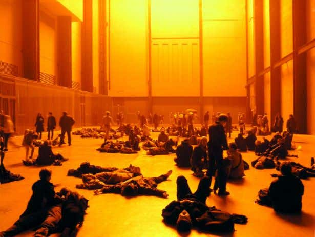 The Weather Project , Olafur Eliasson, Tate Modern, 2000