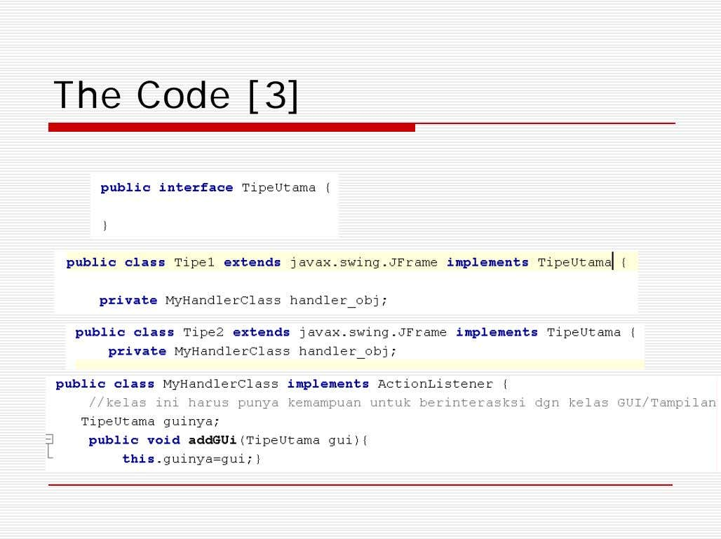 The Code [3]