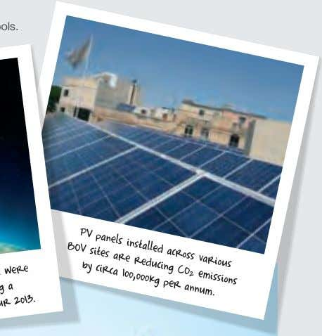 worthwhile environmentally-friendly initiatives, such as the Dinja Waħda project which is across all Primary Schools.