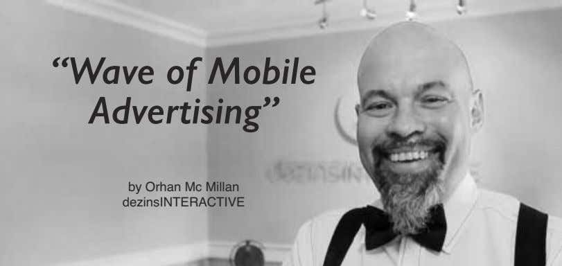 """Wave of Mobile Advertising"" by Orhan Mc Millan dezinsINTERACTIVE"