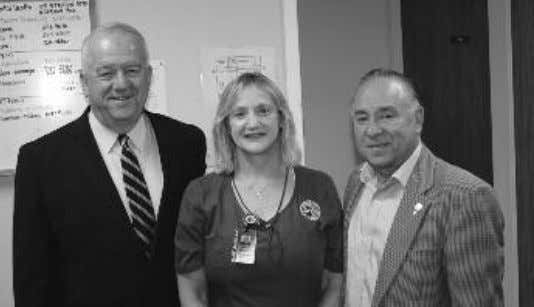 to Ascension Parish residents. Ascension Parish President Kenny Matassa oversaw the ren- ovations at the Health