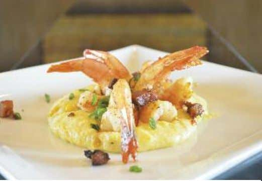 Cooking Gourmet at Home with SNO'S SEAFOOD & STEAKS GrilledShrimp&RoastedCornGrits Executive Chef Ben Jarreau