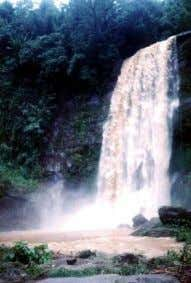 remnant of upland true natural forest in the country. Madhavkunda Waterfalls : Approx. 60 km from