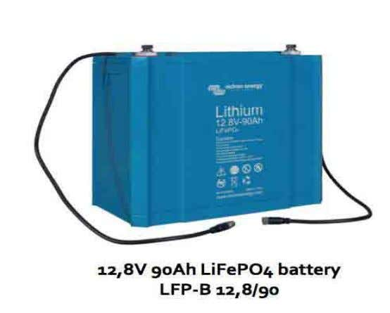 Batterie Lithium 12,8V 12,8V LiFePO4 batterie 60Ah 90Ah 160Ah 200Ah 300Ah Version CB- BMS