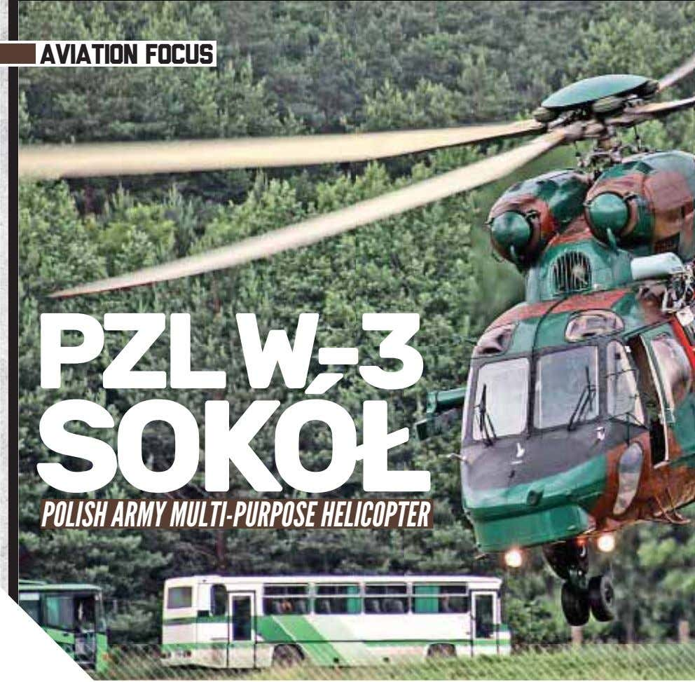 aviation focus PZLW-3 SOKÓ POLISH ARMY MULTI-PURPOSE HELICOPTER