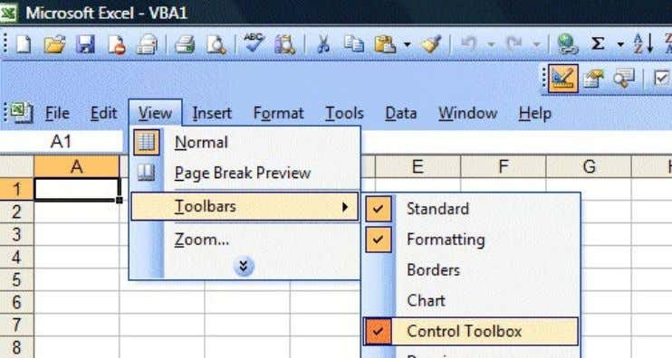 and draw it on the spreadsheet, as shown in Figure 1.2. Figure 1.1: Displaying Control Toolbox