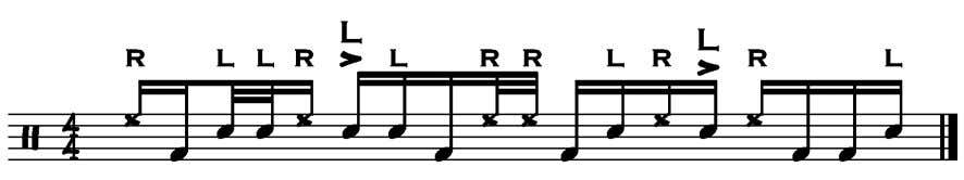apply though, so keep the 32nd note doubles really quiet. pretend they are eighth-note triplets! Ignore
