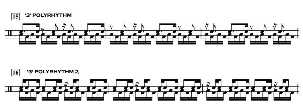 of the phrase and play them by ear to start with. So here are the Horizontal