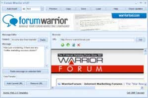 keywords, and automate blog, forum, and directory marketing. Not only will you'll be able to use