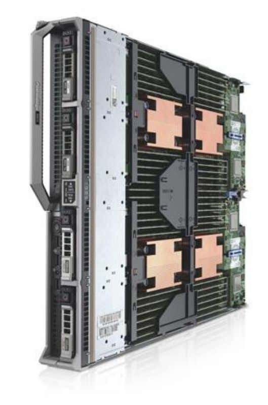 visit http://www.dell.com/us/business/p/poweredge-m820/pd Figure 3 Dell PowerEdge M820 Blade Server 11 Configuring