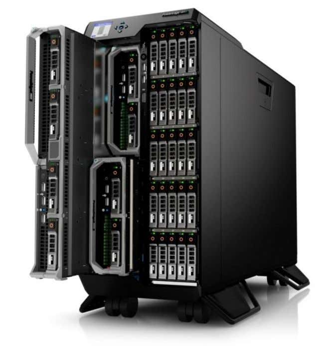 visit http://www.dell.com/us/business/p/poweredge- vrtx/pd Figure 1 Dell PowerEdge VRTX Chassis 9 Configuring