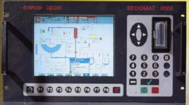 Automatic operation of dyeing machines Baco Sedomat 5000 universal controller ß Can be used stand-alone with