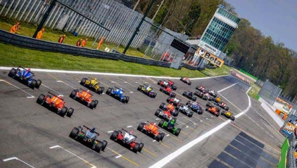 races on all (but one) F1 circuits in order to provide an excellent prepara,on for the