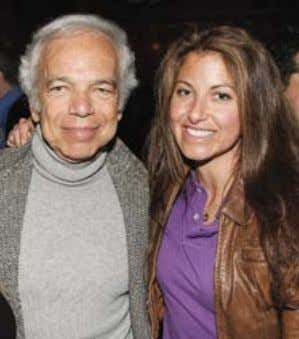 "Dylan's Candy Bar in October 2008; Dylan and Ralph Lauren. ""I love color; I think they"