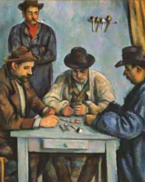 it's time we Met FOR A SPECTACULAR SPRING SEASON CÉZANNE'S CARD PLAYERS Through May 8 ROOMS
