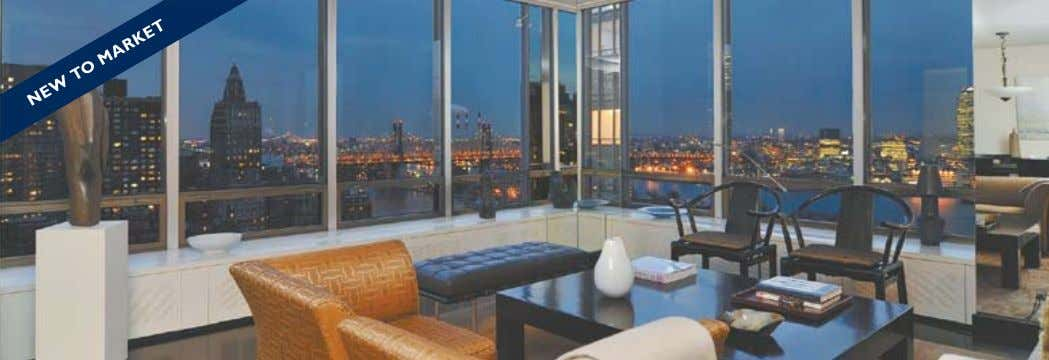 LISTINGS: www.nikkifield.com 860 UNITED NATIONS PLAZA DESIGNER'S OWN, APARTMENT 28B $2,750,000 ARCHITECT'S