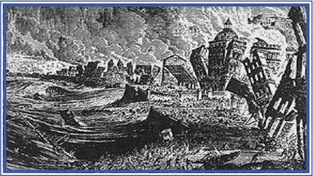 ordering the radical reconstruction of the Baixa Lisbon Earthquake 1755 an early engraving The Lisbonian