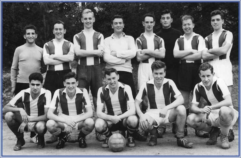 leave alone the gable end of my inner-city presbytery! ■ Lisbonian Football Team – [L-R] Pat