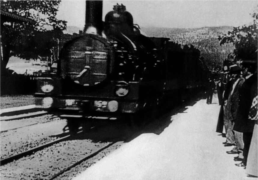 images: namely, the possibility of an-iconology . Figure 6. Film still from Lumière Brothers'