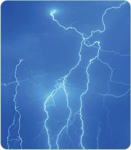and we can eat plants or animals for our protein sources. Lightning changes air nitrogren into