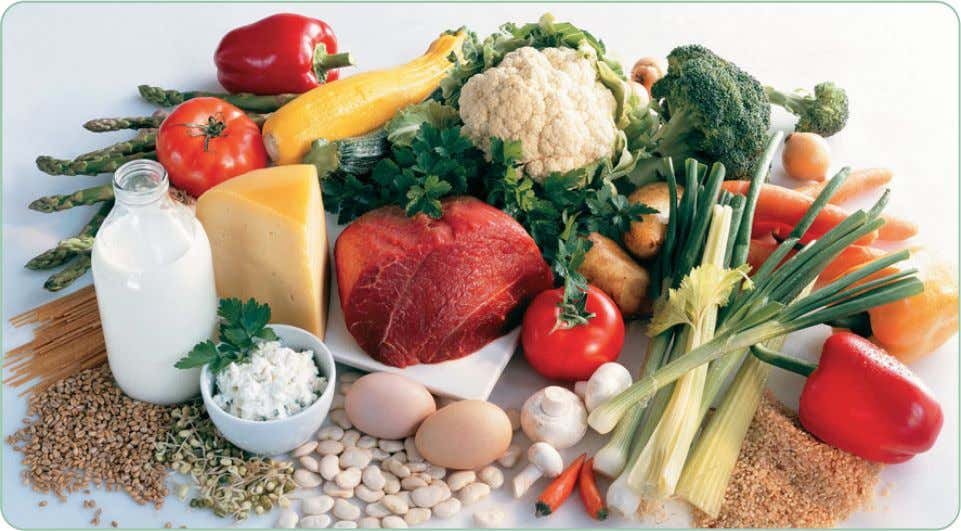 outside the cell prefers a higher concentration of sodium. Dark green vegetables, milk and meat are