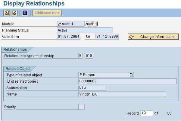 can define the appraiser for a module via relationship 518. Transaction PIQSM -> Relationship 518 SAP
