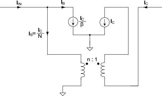 no de, we will use the simple circuit shown in figure 3.8. Fig 3.8: Simplified CE