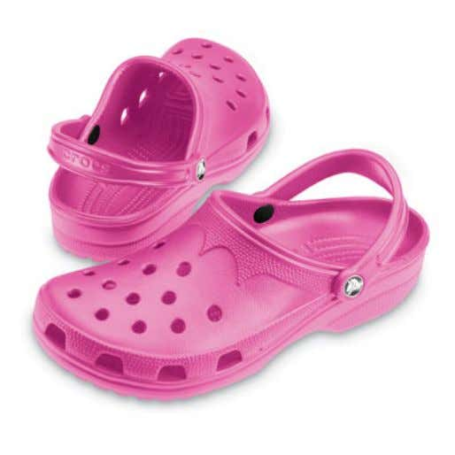 qualities of these shoes while at work, school and play. Crocs' competitive advantage comes from the