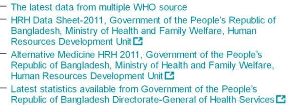 Read full story HEALTH WORKFORCE DATA HUMAN RESOURCES FOR HEALTH PLAN A comprehensive HRH strategy is