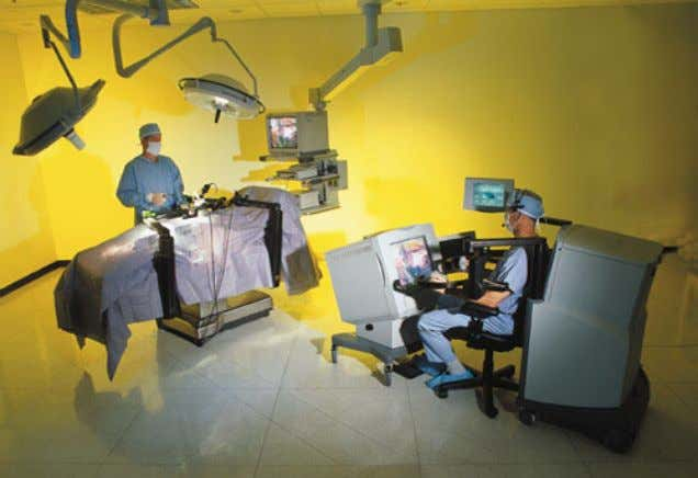 3.3. Robotics and Intelligent Machines 57 Figure 3.8. The ZEUS (tm) Robotic Surgical System, developed by