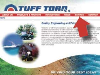 Ordering Replacement Parts Online w w w . t u f Home Page 1 Page 2