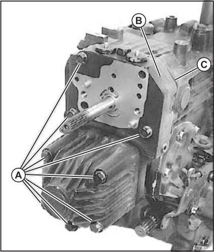 components. The slightest damage can cause poor performance. 1. Install gasket (C). (Fig. 59) 2. Install