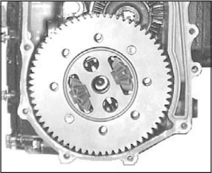 differential assembly are loose. Do not drop or lose parts. Fig. 65, Final Pinon Gear 11.