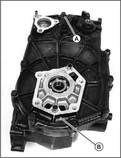 shaft together into transaxle case. 4. Install ball bearing. Fig. 71,Transaxle Right Cover Assembly 5. Apply
