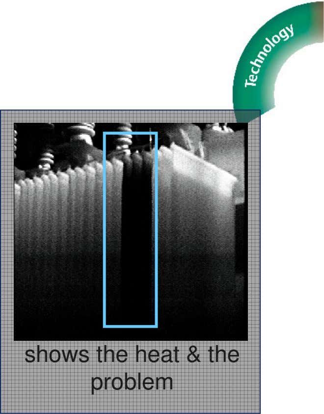 IR Thermography shows the heat & the problem