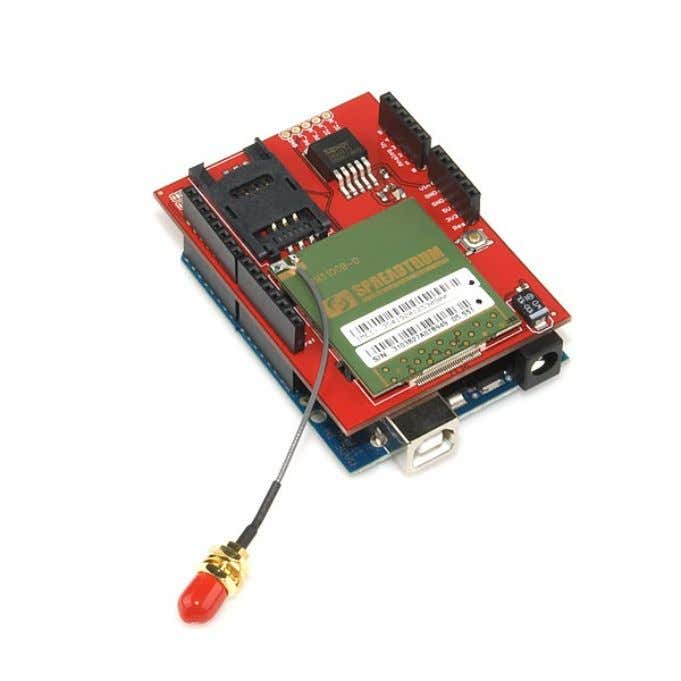 Shield : Cellular with SM5100B https://www.sparkfun.com/products/9607