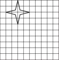 a star with dimensions twice as long on the grid below. BIOLOGY For Exercises 5–7, use