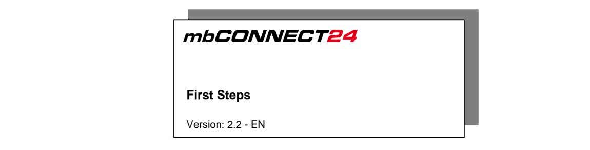 First Steps Version: 2.2 - EN