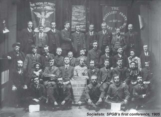 Socialists: SPGB's first conference, 1905