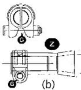 the vertical plane and is used to control steering forces. Figure 2.57 Maintenance instruction diagrams for