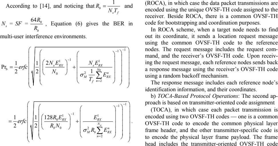 1 (ROCA), in which case the data packet transmissions are According to [14], and noticing