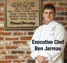 Executive Chef Ben Jarreau